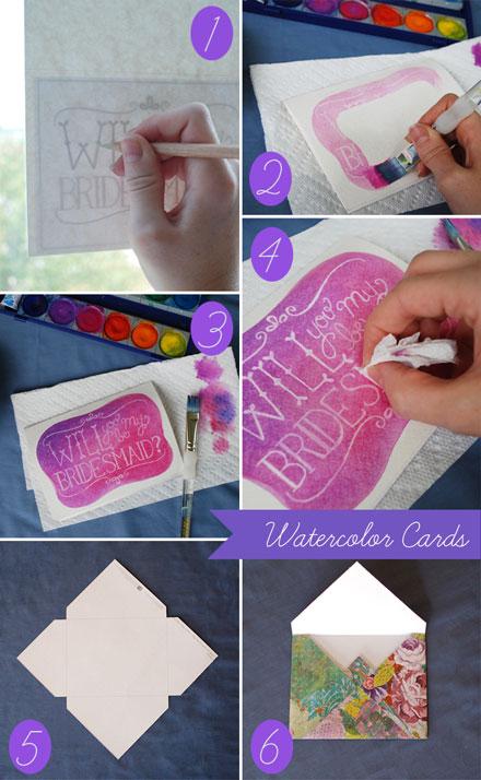fartecipazioni dipinte a mano