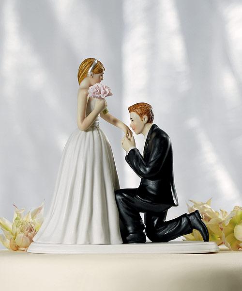 statuine torta matrimonio