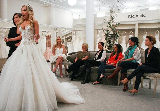 Abito da Sposa Cercasi su Real Time-l'Atelier di Kleinfeld Bridal
