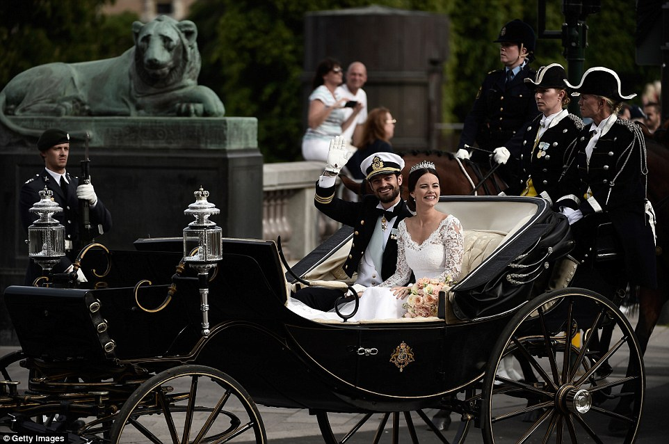 carrozza matrimonio Principe Carl Philip